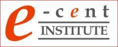 E-CENT logo 1 red line
