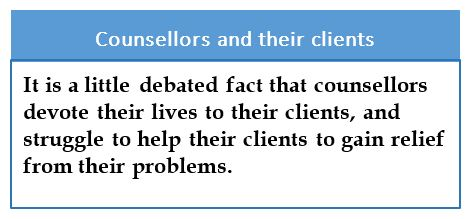Counsellors-clients