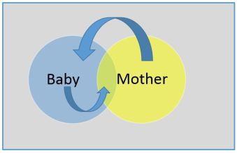 Mother-baby-interaction