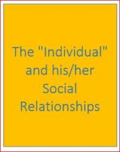 The Social Individual pamphlet