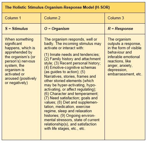 Holistic-SOR-Model
